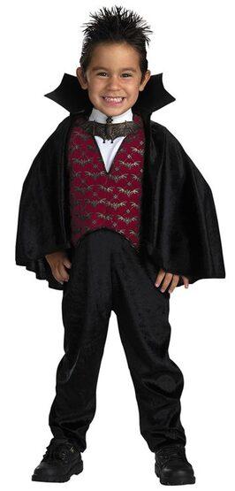 Little Count Toddler Vampire Costume