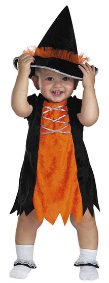 Pint Size Baby Toddler Witch Costume