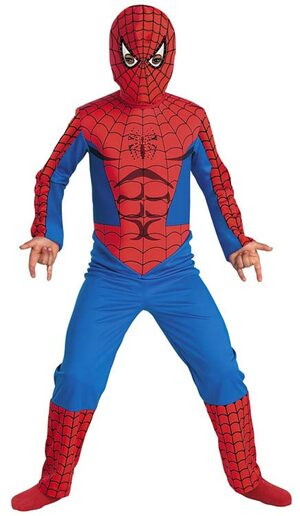 SpiderMan Fiber Optic Kids Costume