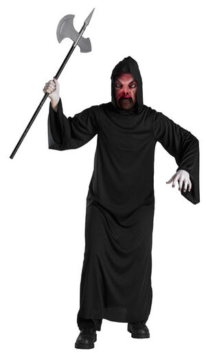 Fire Demon Kids Scary Costume