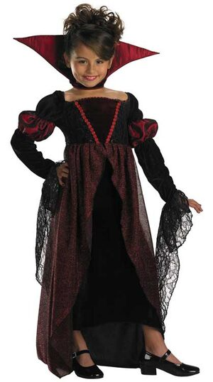 Kids Princess Vampire Costume
