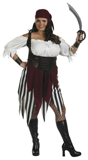 Deck Hand Darling Plus Size Pirate Costume