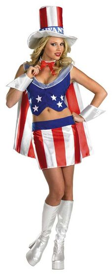 I Want You Patriotic Sexy Costume