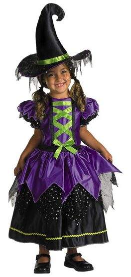 Kids Magical Toddler Witch Costume