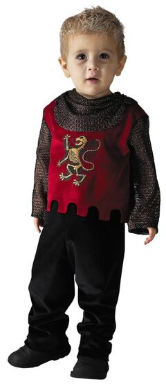 Toddler Heir To The Throne Medieval Knight Costume