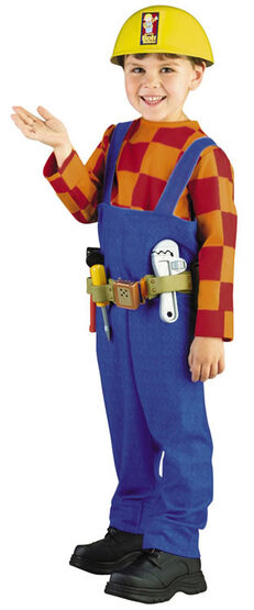 Bob The Builder Deluxe Toddler Costume