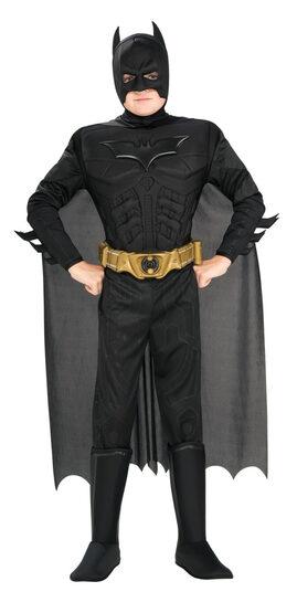 Kids Deluxe Muscle Chest Batman Dark Knight Costume