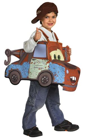 Disney Tow Mater 3D Deluxe Toddler Costume
