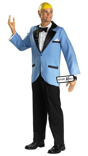 Prom Date Ken Deluxe Adult Costume