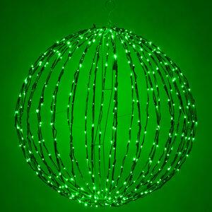 """Green 32"""" LED Halloween Light Sphere"""
