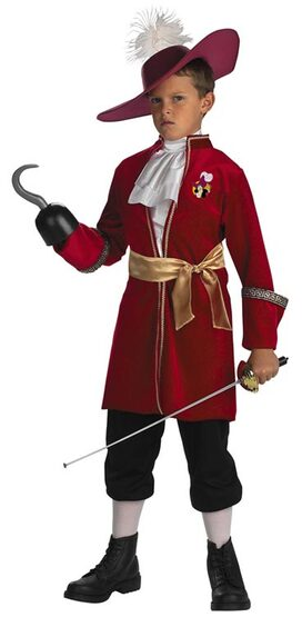 Kids Captain Hook Pirate Costume