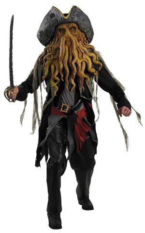Disney Adult Davy Jones Deluxe Pirates of the Caribbean Costume