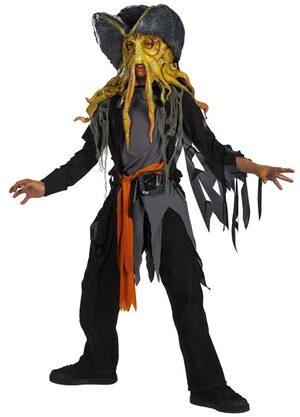 Kids Davy Jones Pirates of the Caribbean Costume