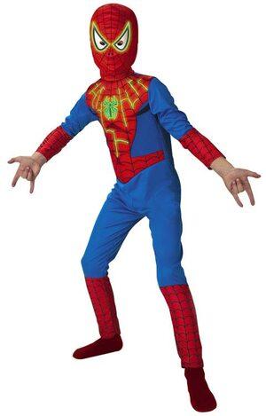 SpiderMan Glow In The Dark Kids Costume