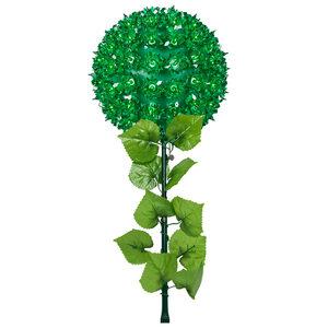 "Green 7.5"" Halloween Light Stake"