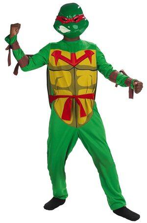 Kids Raphael Ninja Turtle Costume
