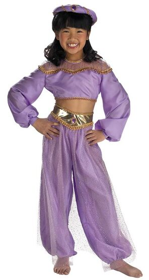 Deluxe Kids Disney Princess Jasmine Costume