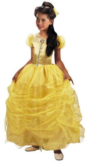 Kids Prestige Disney Princess Belle Costume