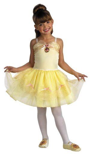 Toddler Disney Belle Ballerina Costume