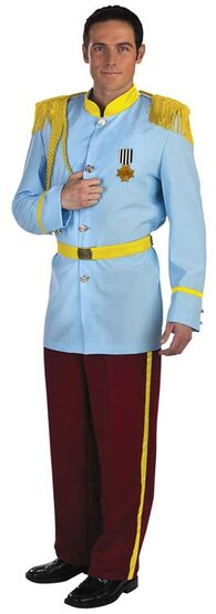 Mens Prestige Prince Charming Adult Costume