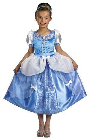 Kids Disney Deluxe Princess Cinderella Costume