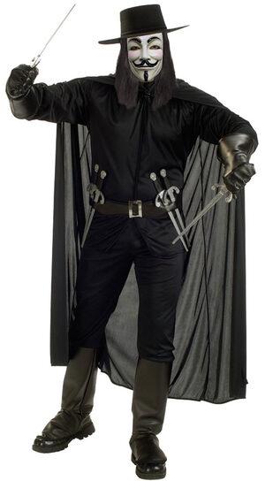 V For Vendetta Adult Costume