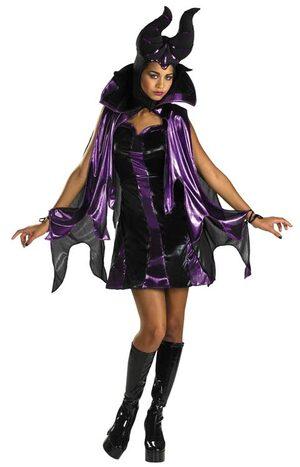 Disney Hottie Maleficent Womens Costume