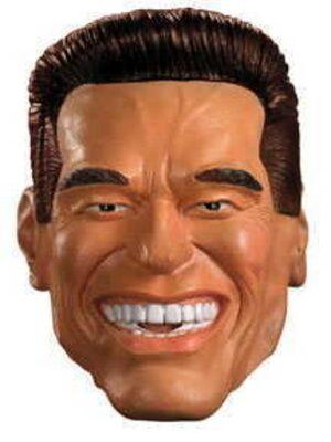 Arnold Schwarzenegger Vinyl Full Mask -  Adult