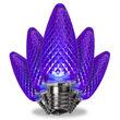 C9 Purple LED Light Bulbs