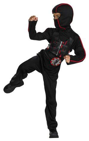 Speed Ninja Quality Kids Costume