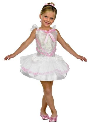 Kids Shimmer Ballerina Toddler Costume