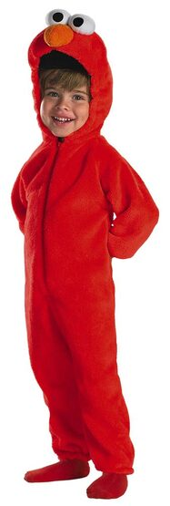 Toddler Plush Deluxe Giggling Elmo Baby Costume