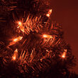 50 T5 Amber LED Halloween Lights on Green Wire