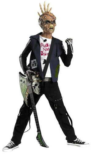 Punk Creep Gothic Kids Costume