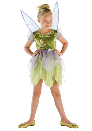 Girls Lost Treasure Disney Tinkerbell Costume