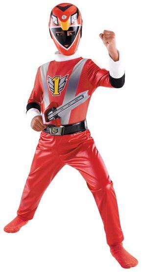 Disney Red Ranger Toddler Costume