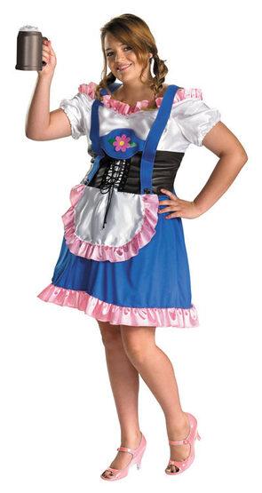 Miss Oktoberfest Plus Size Costume