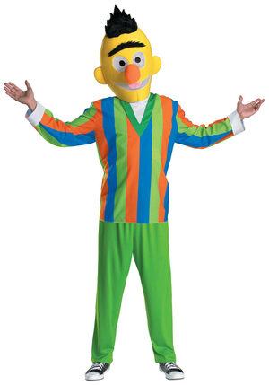 Bert Adult Sesame Street Costume