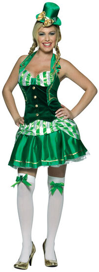 St Patricks Day Shamrock Sweetheart Sexy Costume