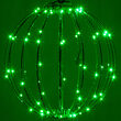 "Green 12"" LED Halloween Light Sphere"
