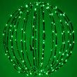 """Green 20"""" LED Halloween Light Sphere"""