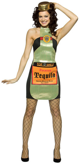 Top Shelf Tequila Sexy Costume