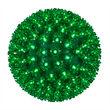 """Green 10"""" LED Halloween Light Sphere"""