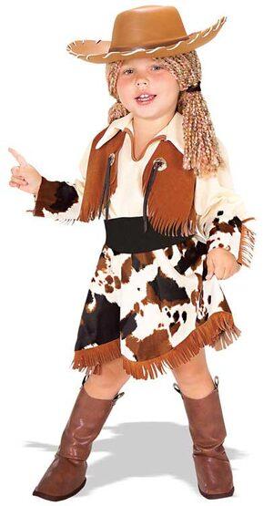 Yarn Babies Cowgirl Toddler Costume