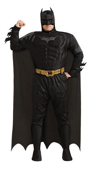 Plus Size Deluxe Muscle Chest Batman Dark Knight Costume