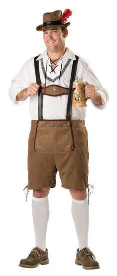 Oktoberfest Guy Plus Size Costume