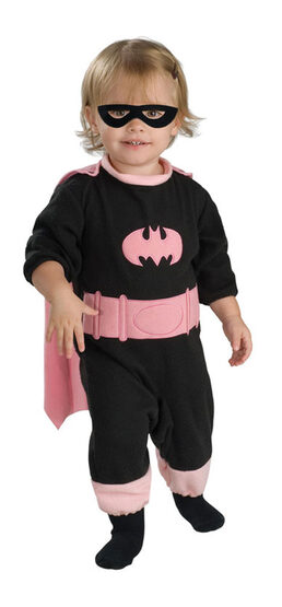 Pink Batgirl Romper Baby Costume