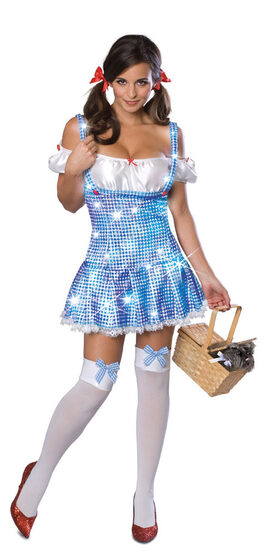 Sexy Light Up Dorothy Wizard of Oz Costume