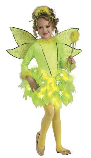 Kids Fairy Twinkle Tinkerbell Costume