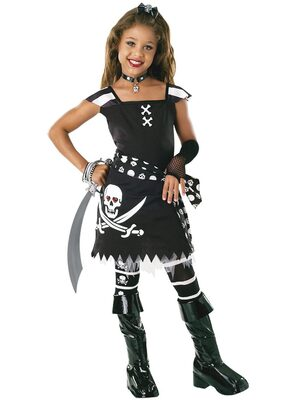 Scar-let Girls Pirate Costume